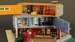 Maison container maquette
