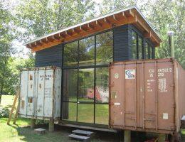Maison en container